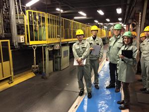 日立金属(株)桑名工場でTOEIC講座と英会話講座を担当