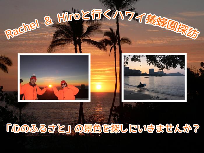Rachel & Hiroと行くハワイ養蜂園探訪